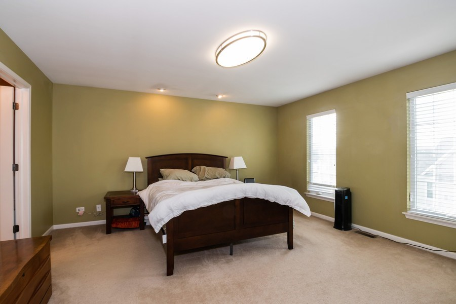 Real Estate Photography - 192 Sype Dr #192, Carol Stream, IL, 60188 - Master Bedroom