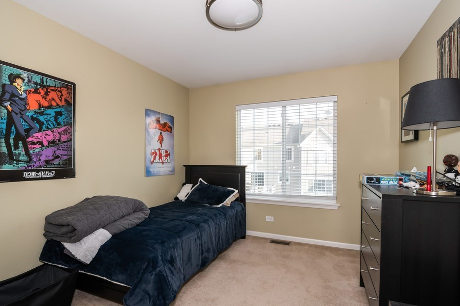 Real Estate Photography - 192 Sype Dr #192, Carol Stream, IL, 60188 - Bedroom