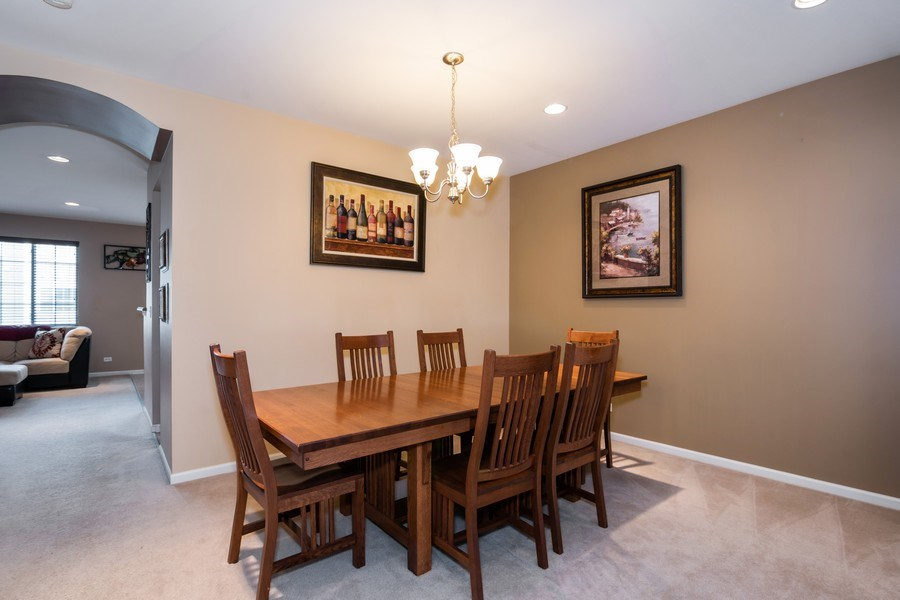 Real Estate Photography - 192 Sype Dr #192, Carol Stream, IL, 60188 - Dining Room