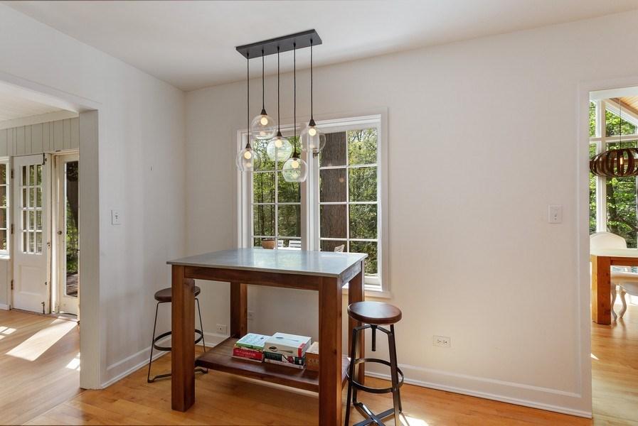 Real Estate Photography - 13278 Prairie Rd, Harbert, MI, 49128 - Dining Area