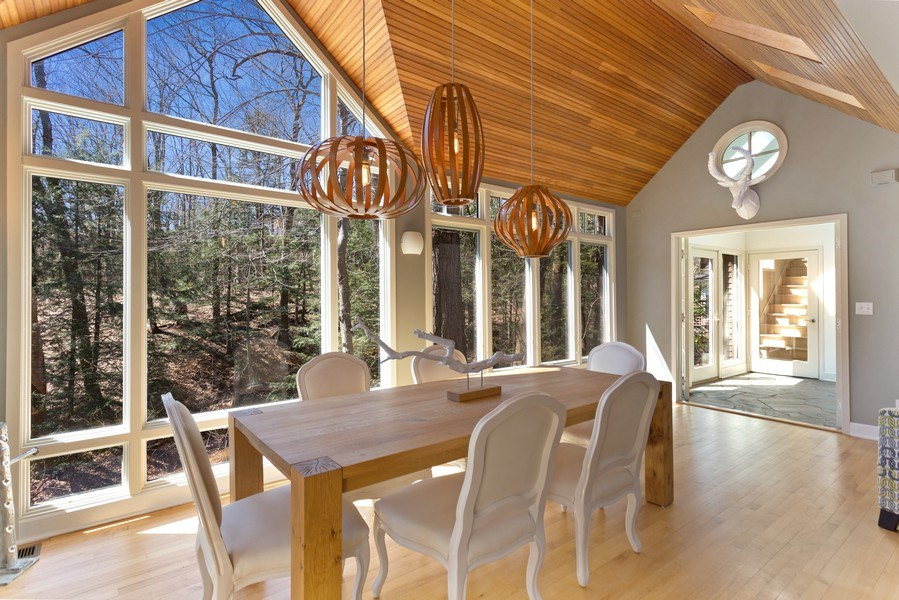 Real Estate Photography - 13278 Prairie Rd, Harbert, MI, 49128 - Dining Room