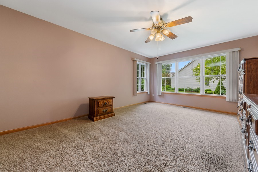 Real Estate Photography - 21323 W Redwood Dr, Plainfield, IL, 60544 - Master Bedroom