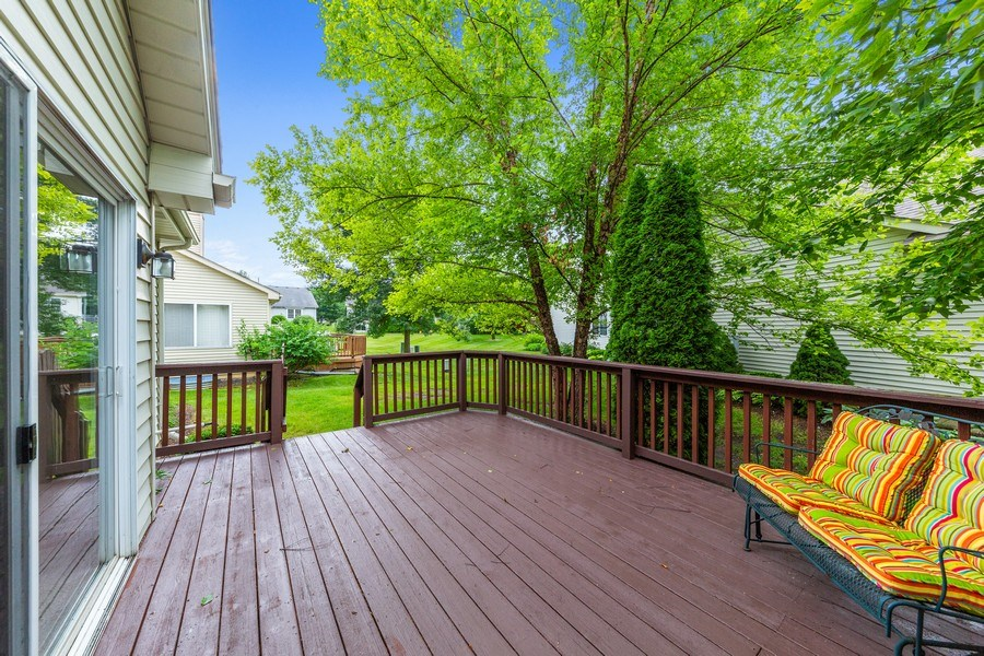 Real Estate Photography - 21323 W Redwood Dr, Plainfield, IL, 60544 - Back Yard