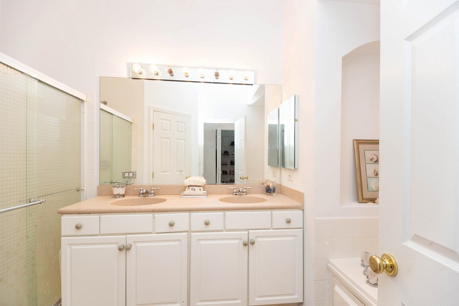 Real Estate Photography - 4555 Concord Ln, Northbrook, IL, 60062 - Master Bathroom