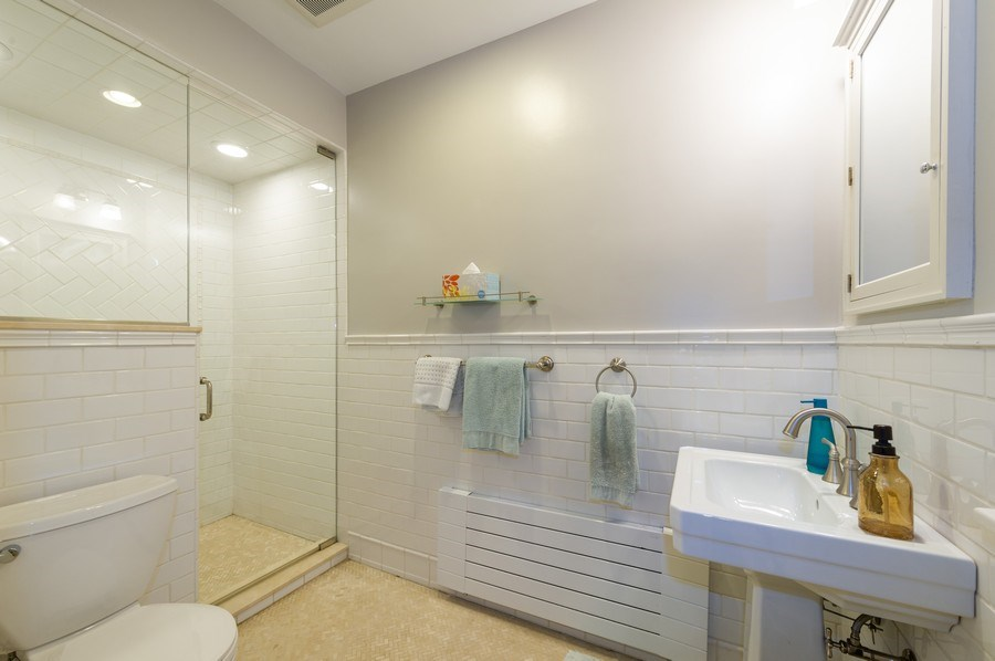 Real Estate Photography - 2341 Lincolnwood, Evanston, IL, 60201 - 3rd Bathroom