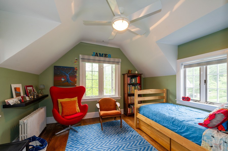Real Estate Photography - 2341 Lincolnwood, Evanston, IL, 60201 - 3rd Bedroom