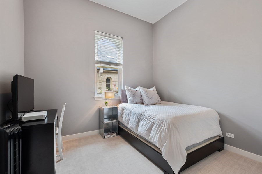 Real Estate Photography - 165 Whistler, Highland Park, IL, 60035 - 2nd Bedroom