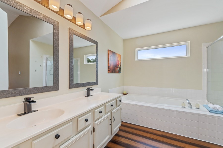 Real Estate Photography - 331 Sundance Drive, Bartlett, IL, 60103 - Master Bathroom