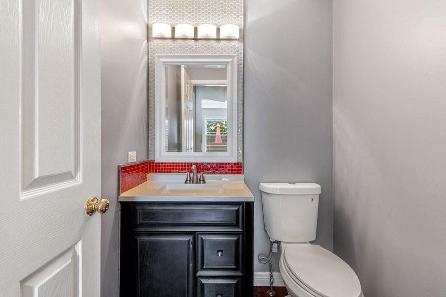 Real Estate Photography - 331 Sundance Drive, Bartlett, IL, 60103 - Half Bath