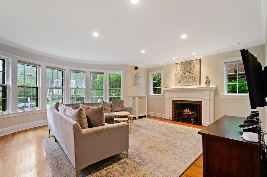 Real Estate Photography - 2417 Thayer Street, Evanston, IL, 60201 - Living Room