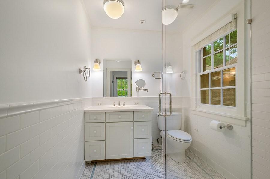 Real Estate Photography - 2417 Thayer Street, Evanston, IL, 60201 - Master Bathroom