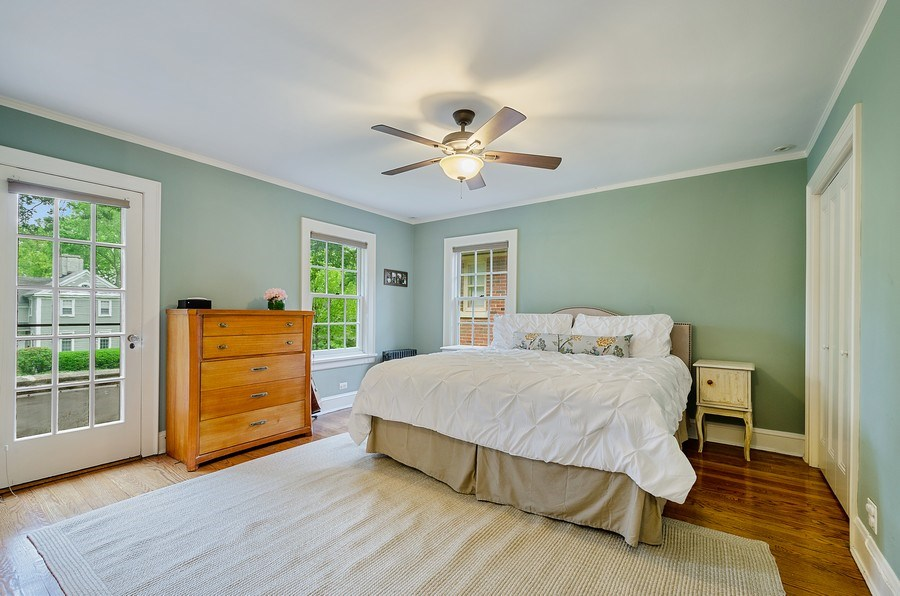 Real Estate Photography - 2417 Thayer Street, Evanston, IL, 60201 - Master Bedroom