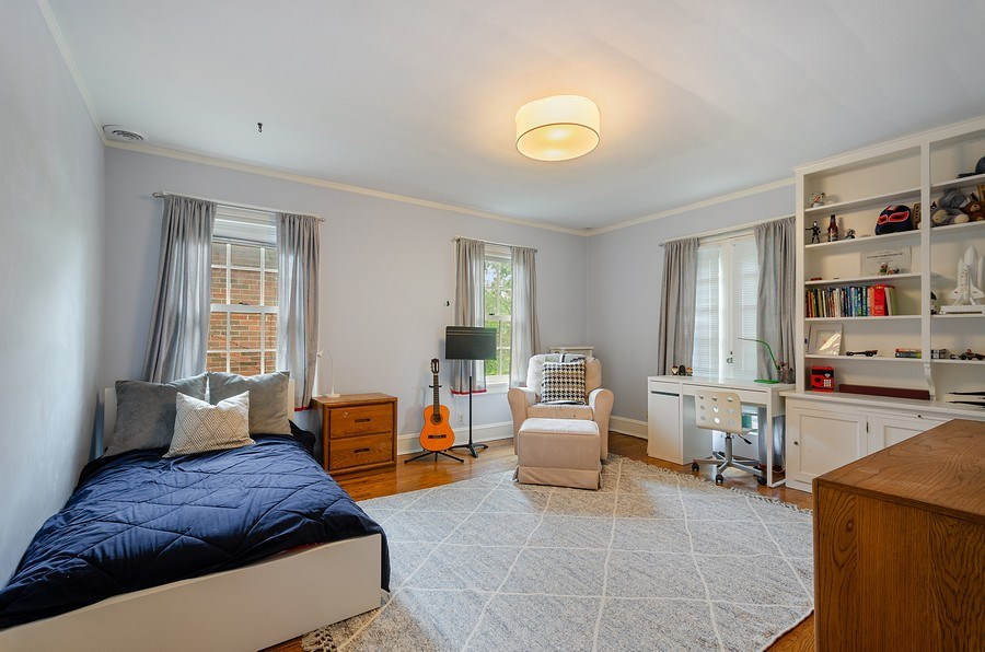 Real Estate Photography - 2417 Thayer Street, Evanston, IL, 60201 - 2nd Bedroom