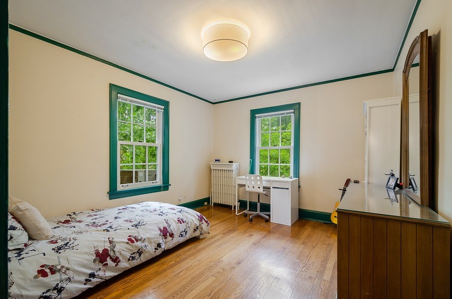 Real Estate Photography - 2417 Thayer Street, Evanston, IL, 60201 - 3rd Bedroom