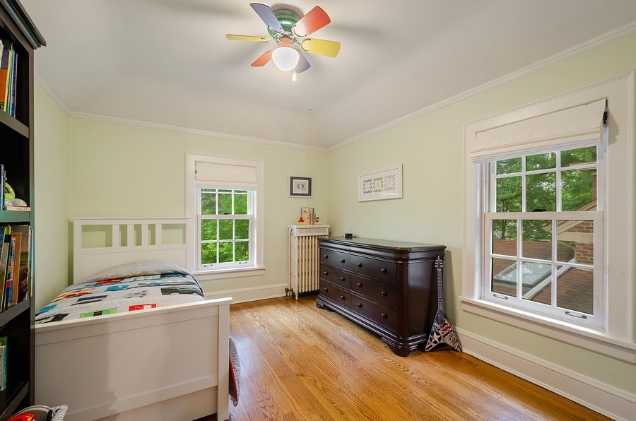 Real Estate Photography - 2417 Thayer Street, Evanston, IL, 60201 - 4th Bedroom
