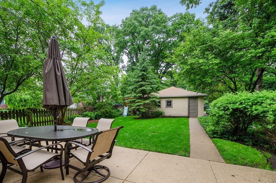 Real Estate Photography - 2417 Thayer Street, Evanston, IL, 60201 - Back Yard