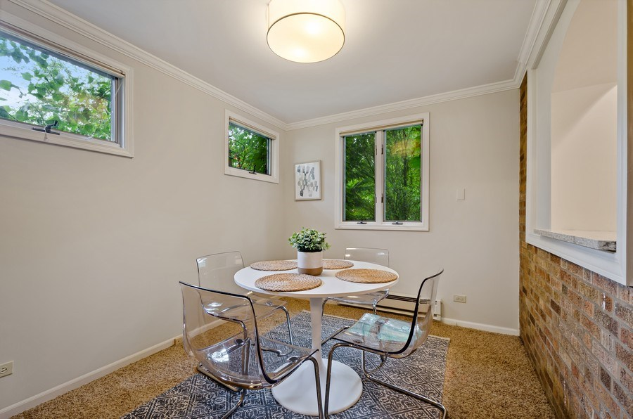 Real Estate Photography - 2417 Thayer Street, Evanston, IL, 60201 - Breakfast Area