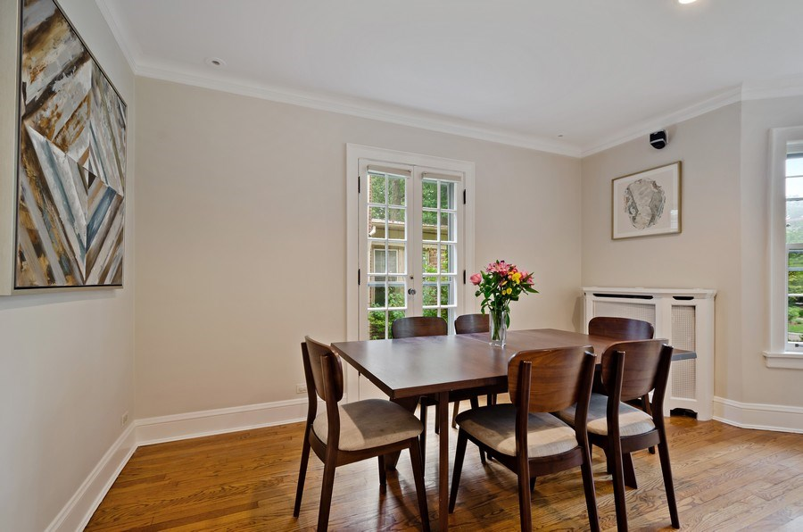 Real Estate Photography - 2417 Thayer Street, Evanston, IL, 60201 - Dining Room