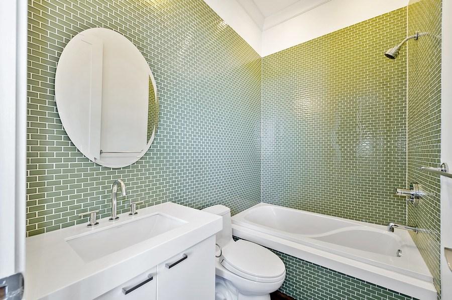 Real Estate Photography - 1412 W. Lexington, Chicago, IL, 60607 - 3rd Bathroom