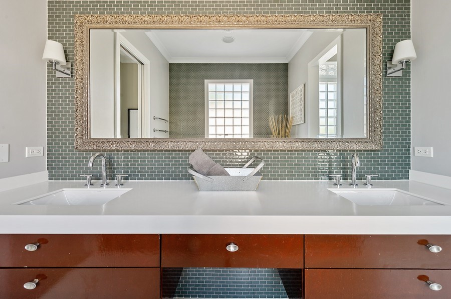 Real Estate Photography - 1412 W. Lexington, Chicago, IL, 60607 - Master Bathroom