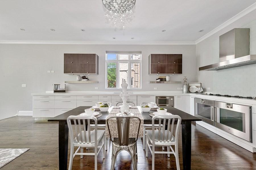 Real Estate Photography - 1412 W. Lexington, Chicago, IL, 60607 - Kitchen