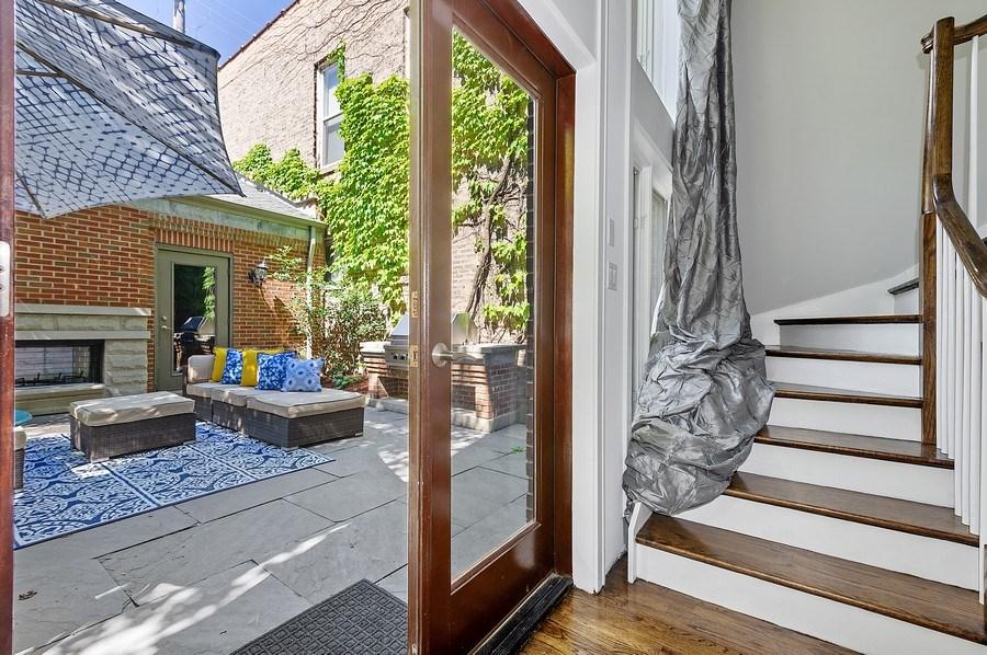 Real Estate Photography - 1412 W. Lexington, Chicago, IL, 60607 - Mudroom