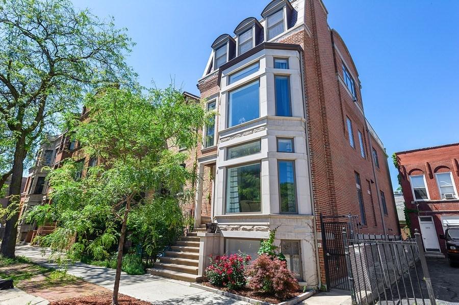 Real Estate Photography - 1412 W. Lexington, Chicago, IL, 60607 - Front View