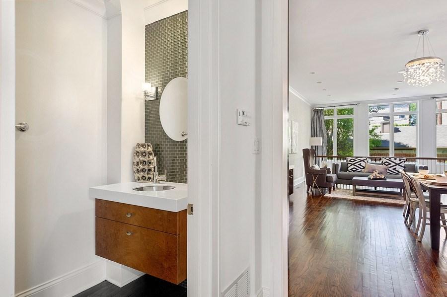 Real Estate Photography - 1412 W. Lexington, Chicago, IL, 60607 - Hallway