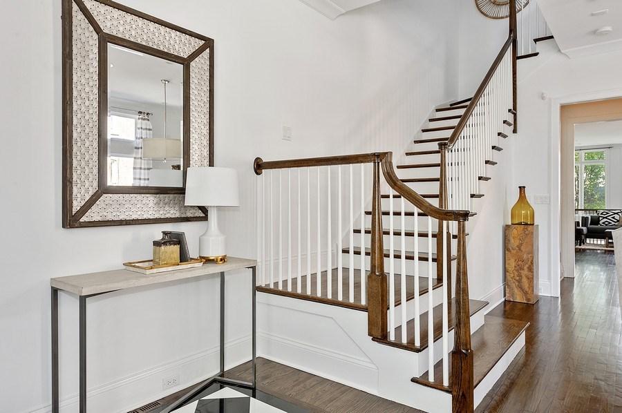 Real Estate Photography - 1412 W. Lexington, Chicago, IL, 60607 - Foyer