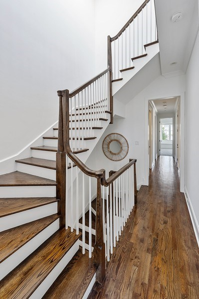 Real Estate Photography - 1412 W. Lexington, Chicago, IL, 60607 - Staircase