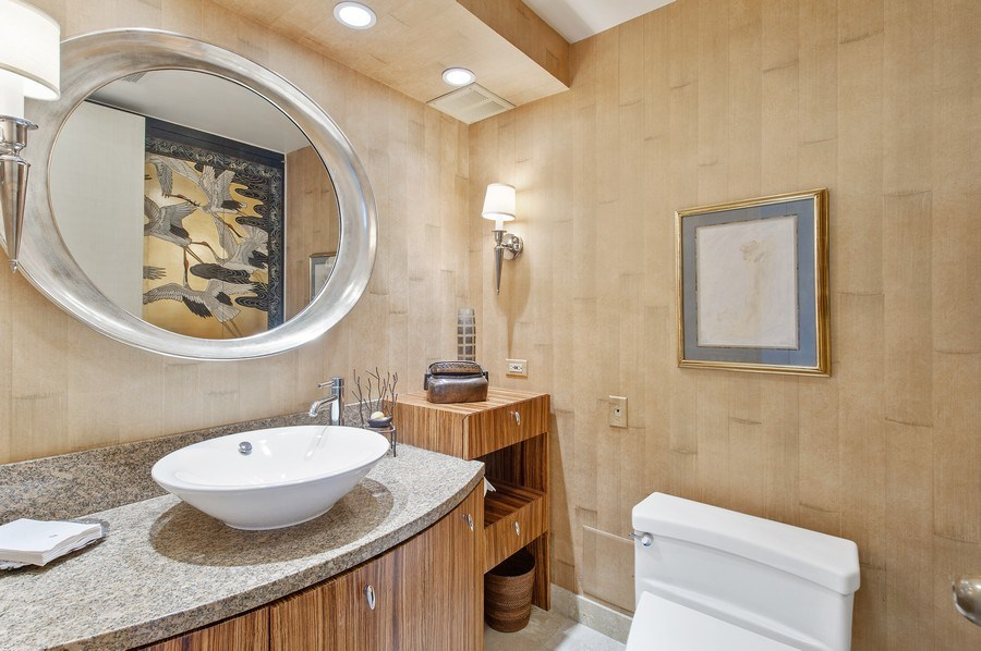 Real Estate Photography - 180 E. Pearson, #3606, Chicago, IL, 60611 - Third Bathroom