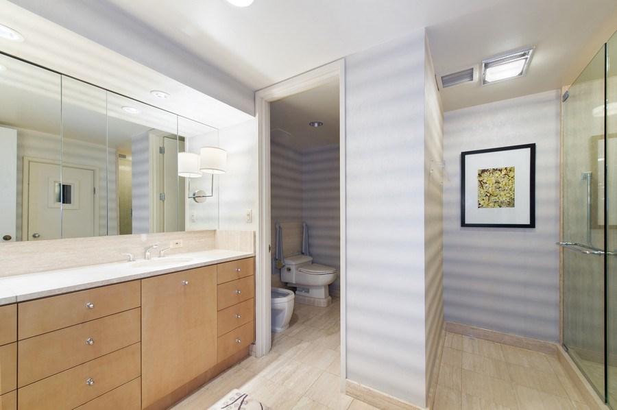 Real Estate Photography - 180 E. Pearson, #3606, Chicago, IL, 60611 - Master Bathroom