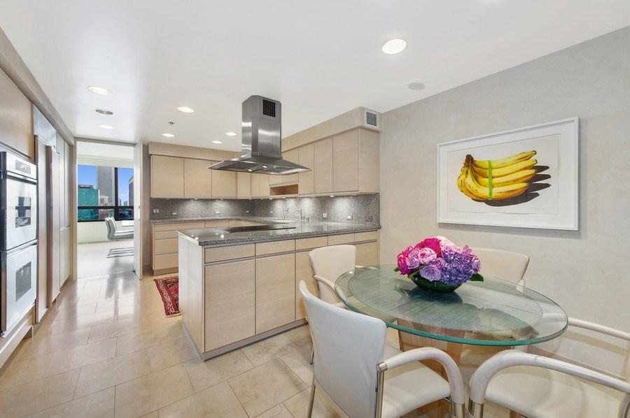 Real Estate Photography - 180 E. Pearson, #3606, Chicago, IL, 60611 - Kitchen / Breakfast Room