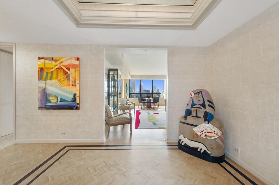 Real Estate Photography - 180 E. Pearson, #3606, Chicago, IL, 60611 - Foyer