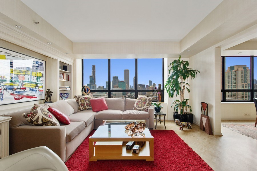 Real Estate Photography - 180 E. Pearson, #3606, Chicago, IL, 60611 - Third Bedroom / Family Room