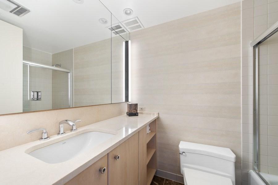 Real Estate Photography - 180 E. Pearson, #3606, Chicago, IL, 60611 - Second Bathroom