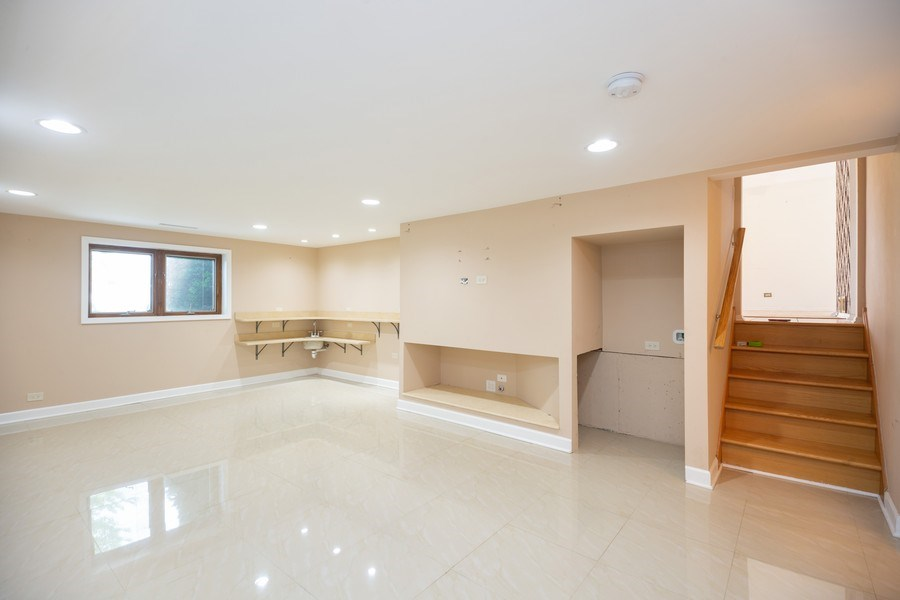 Real Estate Photography - 8510 W. Madison Dr., Niles, IL, 60714 - Basement
