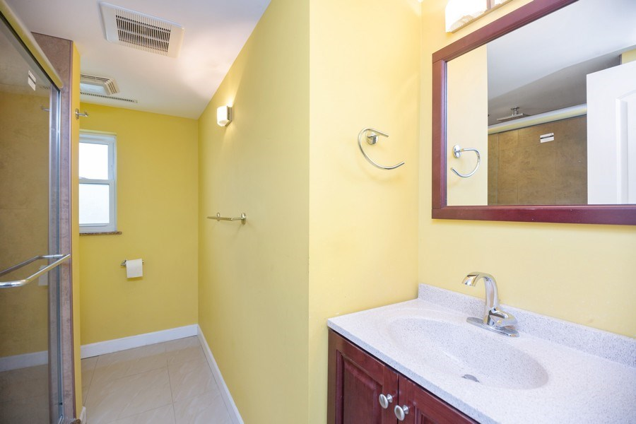 Real Estate Photography - 8510 W. Madison Dr., Niles, IL, 60714 - 2nd Bathroom