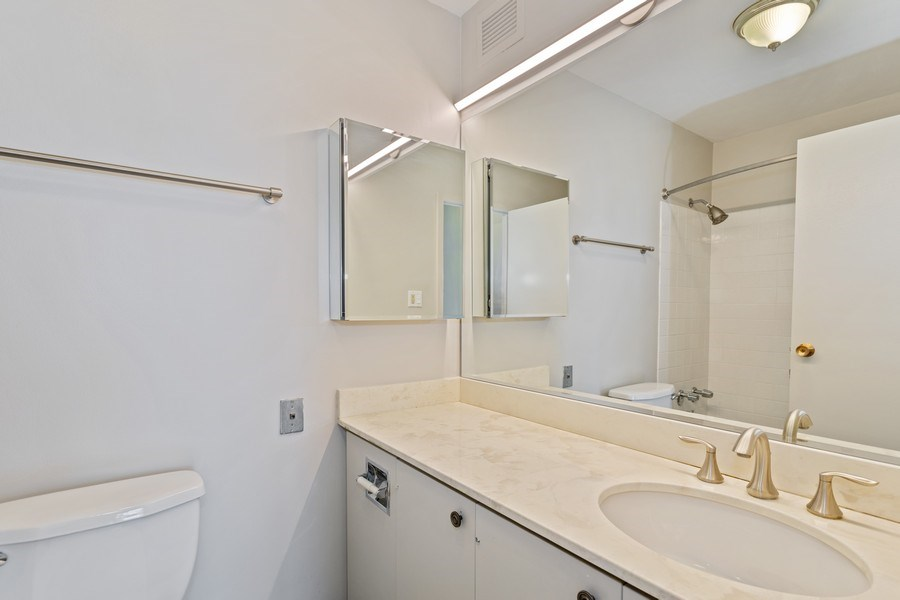 Real Estate Photography - 3930 Pine Grove, #907, Chicago, IL, 60613 - Master Bathroom