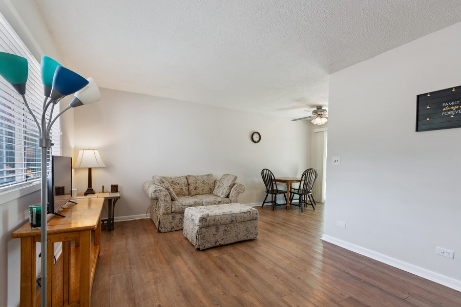 Real Estate Photography - 3120 Fox Hill Road, Aurora, IL, 60504 - Living Room