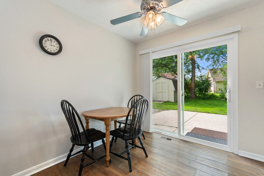 Real Estate Photography - 3120 Fox Hill Road, Aurora, IL, 60504 - Dining Room