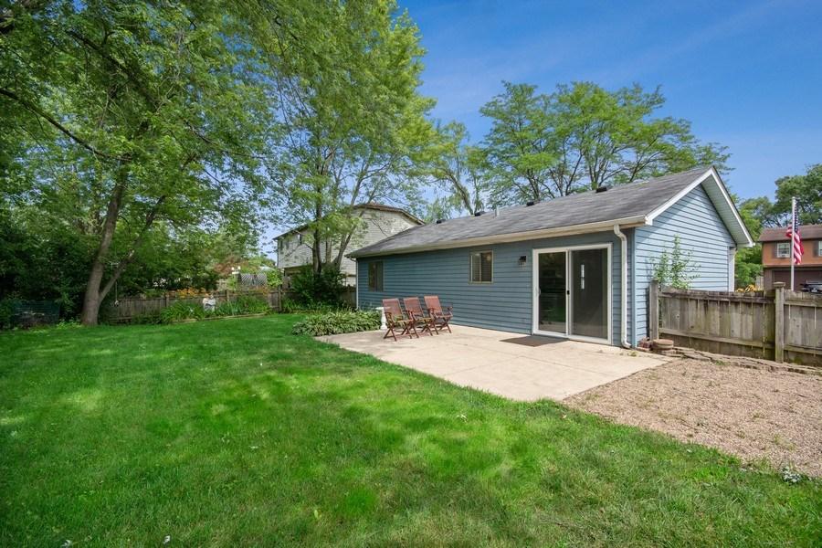 Real Estate Photography - 3120 Fox Hill Road, Aurora, IL, 60504 - Back Yard