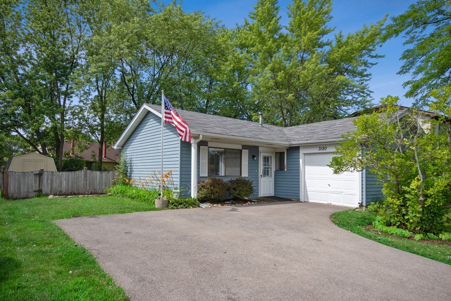 Real Estate Photography - 3120 Fox Hill Road, Aurora, IL, 60504 - Front View