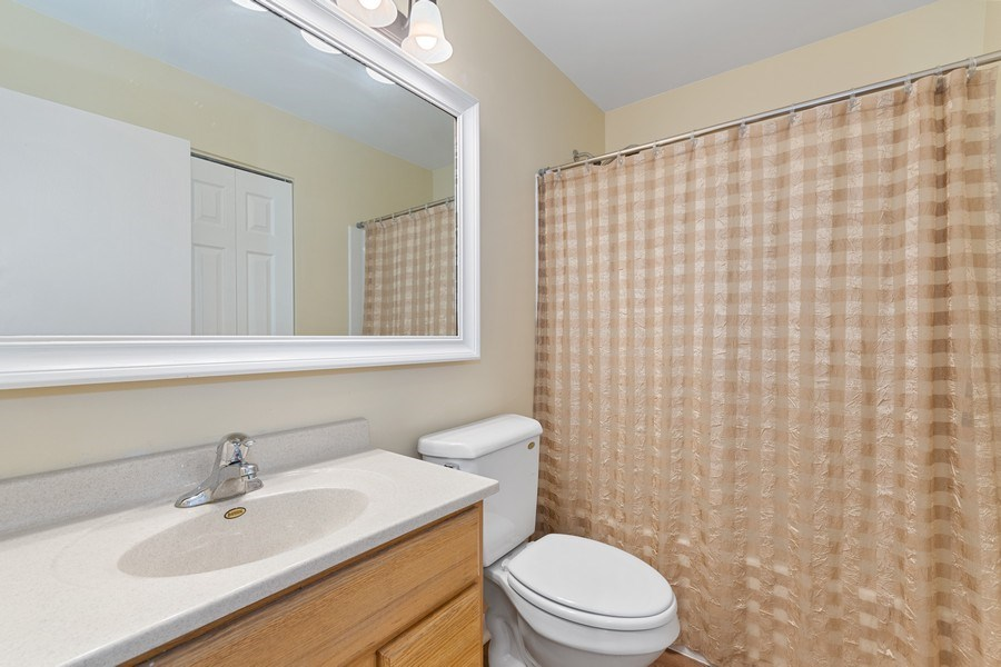 Real Estate Photography - 3120 Fox Hill Road, Aurora, IL, 60504 - 2nd Bathroom