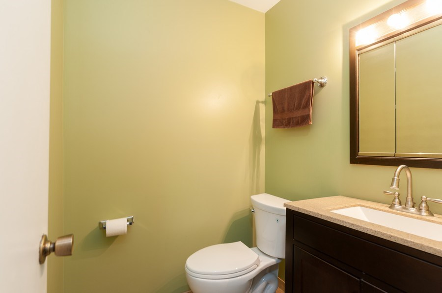 Real Estate Photography - 891 Catherine Ct, Grayslake, IL, 60030 - Powder Room