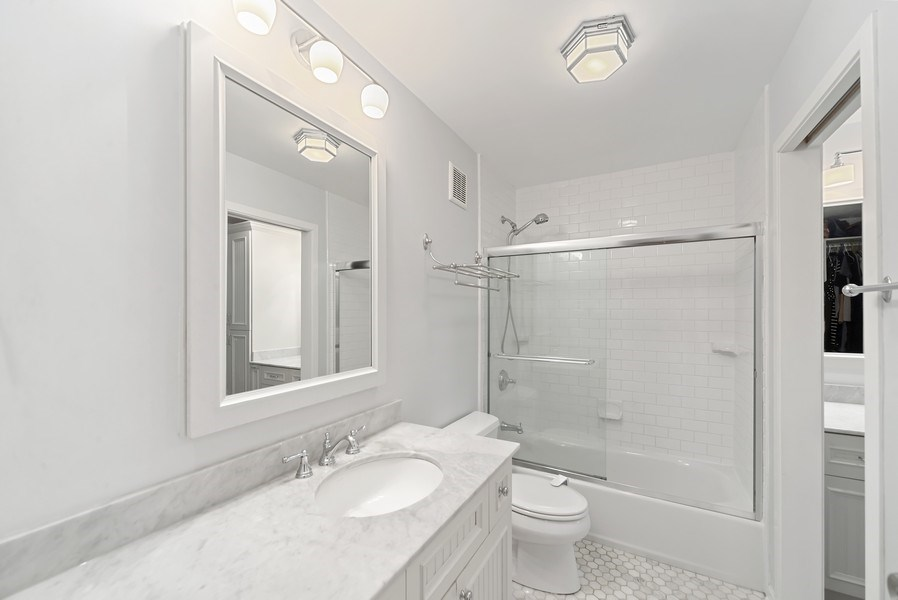 Real Estate Photography - 1649 N. Vine, Chicago, IL, 60614 - Master Bathroom