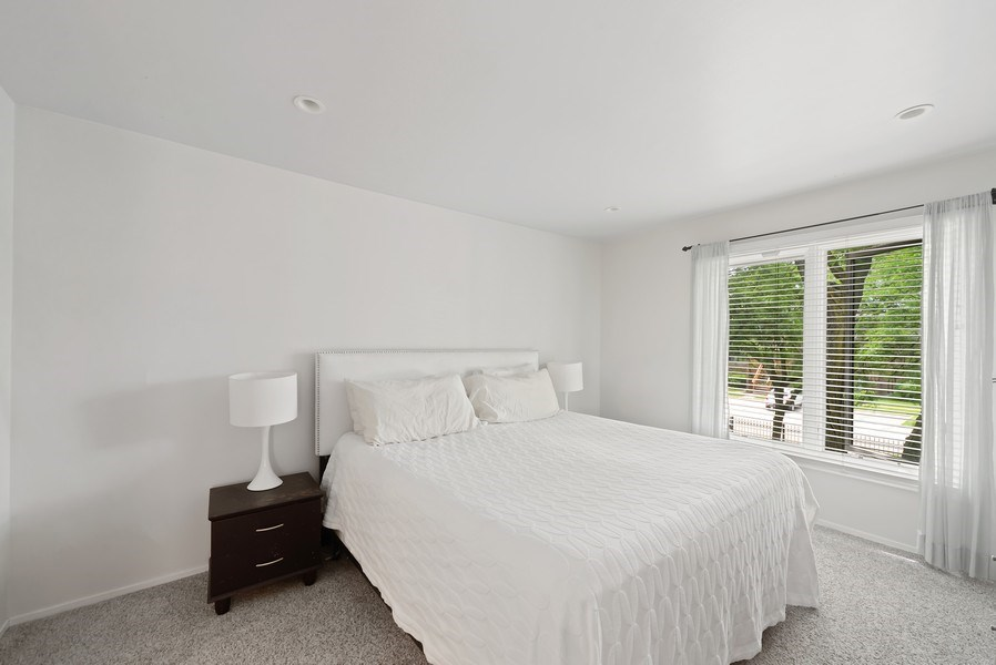 Real Estate Photography - 1649 N. Vine, Chicago, IL, 60614 - Master Bedroom