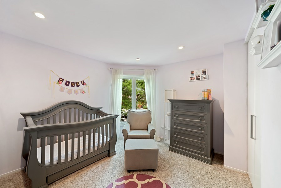Real Estate Photography - 1649 N. Vine, Chicago, IL, 60614 - Second Bedroom