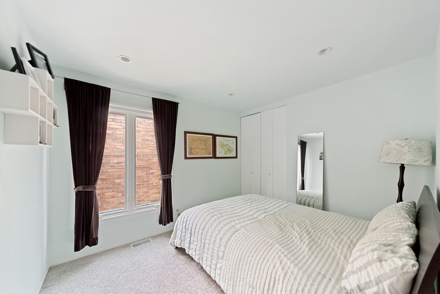 Real Estate Photography - 1649 N. Vine, Chicago, IL, 60614 - Third Bedroom