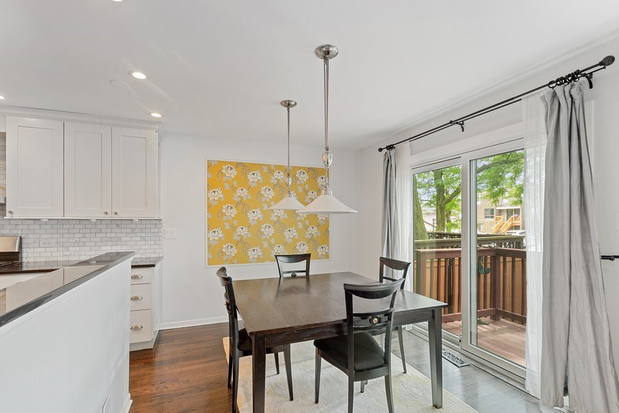 Real Estate Photography - 1649 N. Vine, Chicago, IL, 60614 - Dining Room